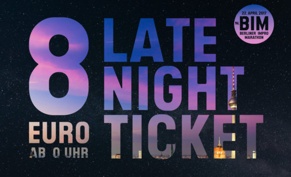 Late Night Ticket ab Mitternacht